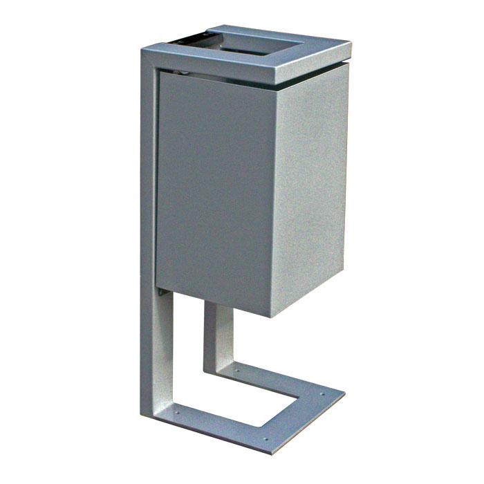 Kosze na śmieci zewnętrzne metalowe KBZ/F KBZ/W