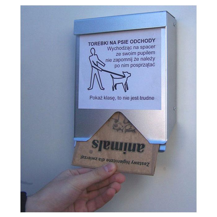 Torebki na psie odchody kaseta