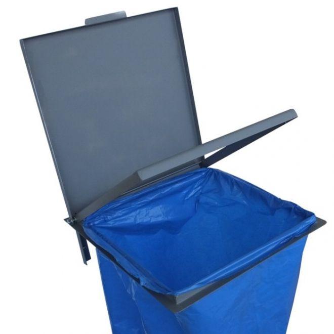 wieszak naścienny worków na śmieci