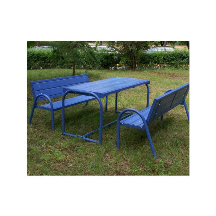 Meble ogrodowe: ławka MD4 i stół TD4