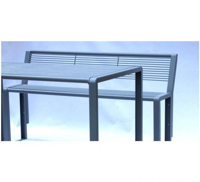 Zestaw ogrodowy ławka stół