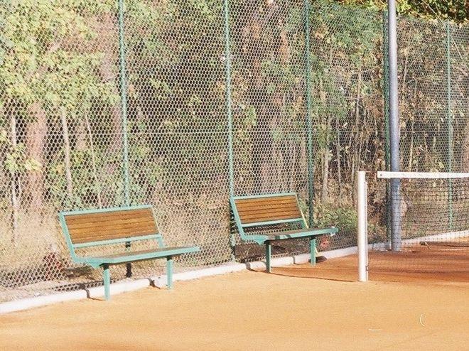 metalowo drewniane ławki miejskie md15